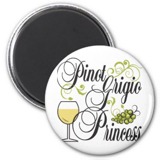 Pinot Grigio Princess Magnet