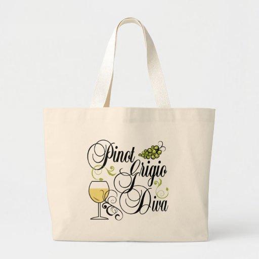 Pinot Grigio Wine Diva Bag