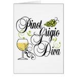 Pinot Grigio Wine Diva Card