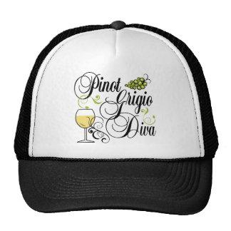 Pinot Grigio Wine Diva Trucker Hat