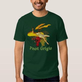 Pinot Grigio Wine Maid Tee Shirt