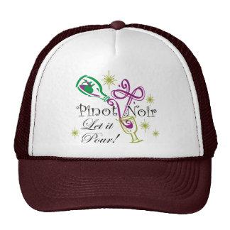 Pinot Noir, Let it Pour! Trucker Hat