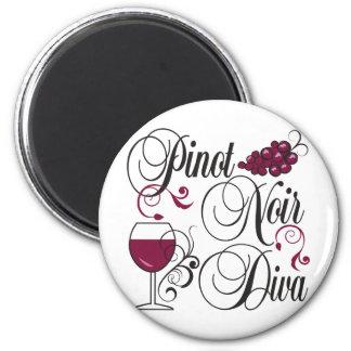 Pinot Noir Wine Diva Magnet