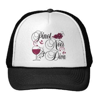 Pinot Noir Wine Diva Trucker Hat