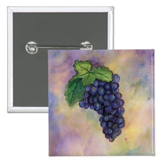 Pinot Noir Wine Grapes Button