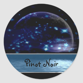 Pinot Noir Wine Labels Stickers