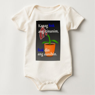 Pinoy funny blogger quotes: Link Building Baby Bodysuit