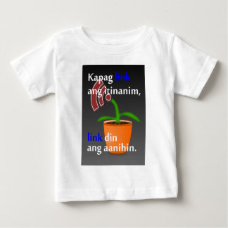 Pinoy funny blogger quotes: Link Building Baby T-Shirt