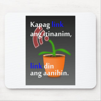 Pinoy funny blogger quotes: Link Building Mouse Pad