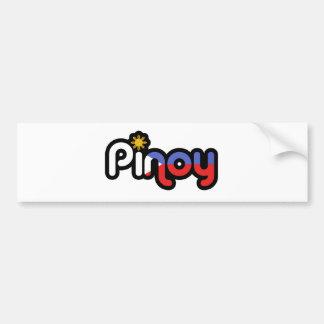 Pinoy Pegatina Para Auto