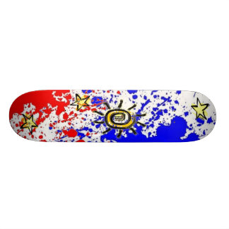 Pinoy Philippine flag Design Skateboard deck