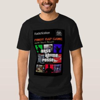 Pinoy Rap Game (Black) Shirt
