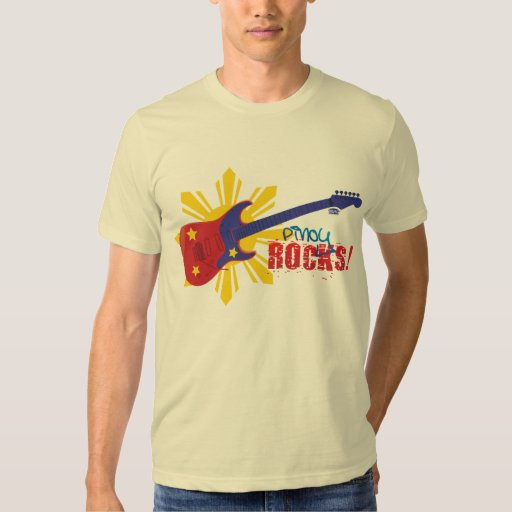 Pinoy Rocks T-shirt