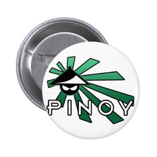 Pinoy Salakot Man Button