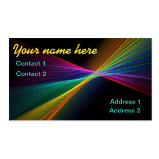 Pinpoint Rainbow Business Card