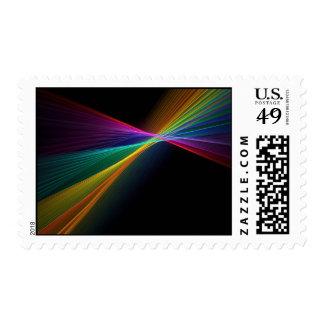 Pinpoint Rainbow Gay Pride LGBT US Postage Stamp