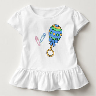 Pins and Rattle Ruffle T-Shirt