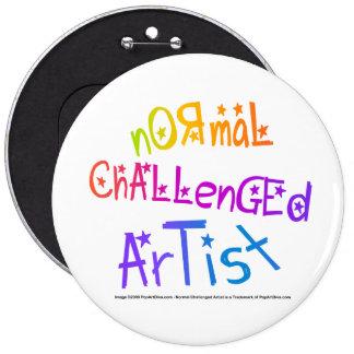 Pins, Buttons - NormalChallengedArtist