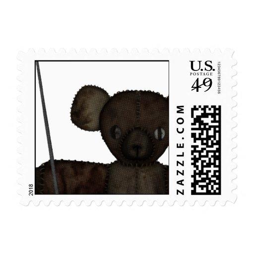 Pins & Needles 3D Bear Stamps