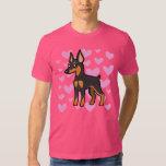 Pinscher miniatura/amor de Manchester Terrier Camisas