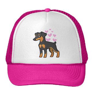 Pinscher miniatura/amor de Manchester Terrier Gorro