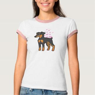 Pinscher miniatura/amor de Manchester Terrier Playeras