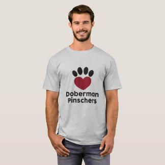 Pinschers del Doberman del amor Playera