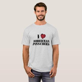 Pinschers del Doberman I (del corazón) Playera