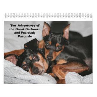 ¡Pinschers miniatura Calendarios