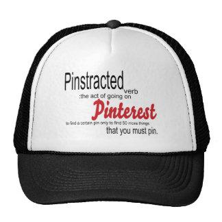 pinstracted trucker hat