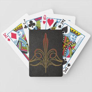 Pinstripe Bicycle Playing Cards