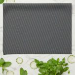 Pinstripe Grey Towels