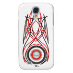 Pinstripe Speck® Fitted™ Hard Shell Case for iPhon Galaxy S4 Case