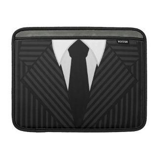 "Pinstripe Suit 13"" Macbook Air Sleeve Horizontal"