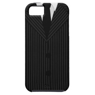 Pinstripe Suit and Tie iPhone 5 or 5S Vibe Cases