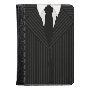 Pinstripe Suit And Tie Kindle Fire Folio Cases at Zazzle