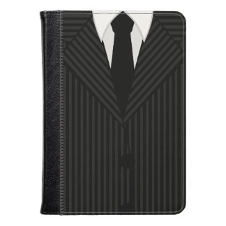 Pinstripe Suit and Tie Kindle Fire Folio Cases