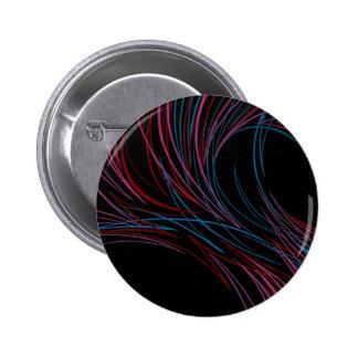 Pinstripes Pinback Button