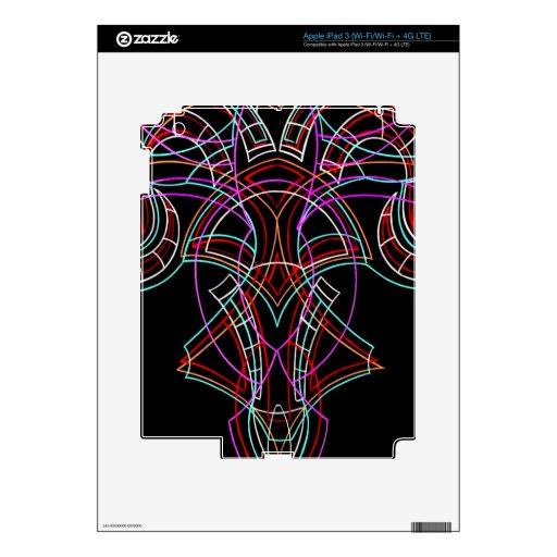 Pinstriping iPad 3 Skins
