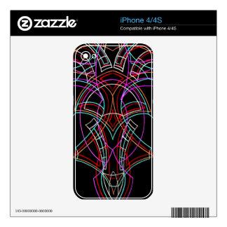 Pinstriping iPhone 4S Skin