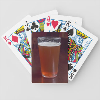 Pint of beer bicycle playing cards