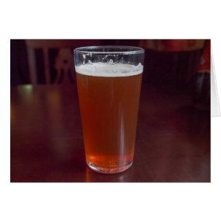 Pint of beer card