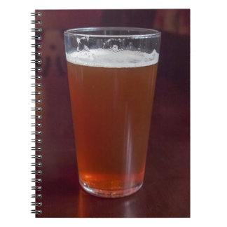 Pint of Beer Spiral Note Book