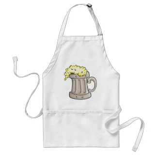 pint-of-beer-vector adult apron
