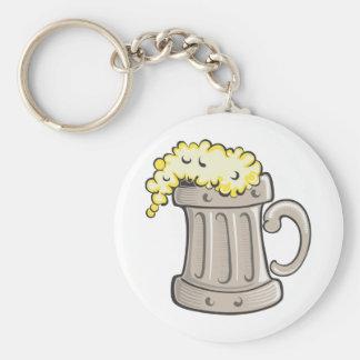 pint-of-beer-vector key chain