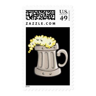 pint-of-beer-vector stamps