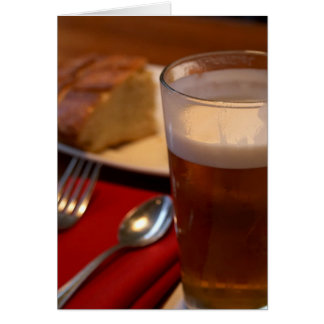Pint Of Beer With Some Bread Cards