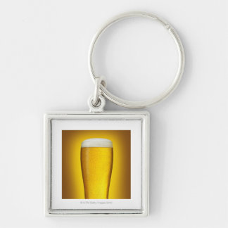 Pint of beer with spritz keychain