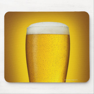 Pint of beer with spritz mouse pad