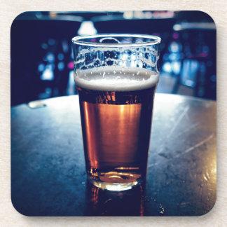 Pint of British ale beer Coasters